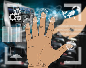 hand interface