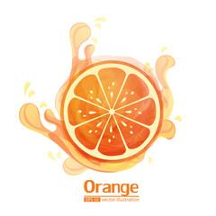 Orange vector