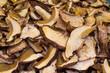 dried sliced mushrooms
