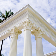 Pole of Roman style