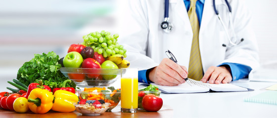 Nutritionist doctor man