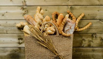 Borsa  con pane