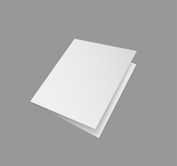 folder closed paper 3d