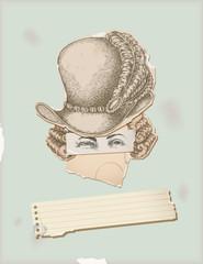 Through history- Character 8 - man seventeen century fashion