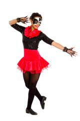 Teenage Tap Dancer