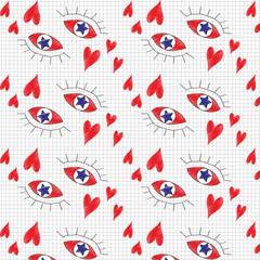 Паттерн глаза