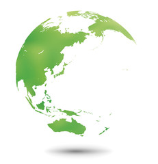 グローバルイメージ・地球・水彩