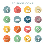 science long shadow icons