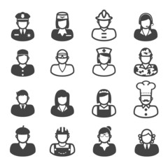 people occupation icons