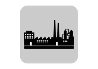 Factory vector icon