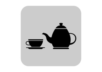 Tea vector icon