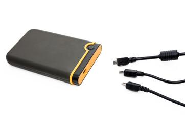 USB-кабели и внешний жесткий диск