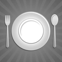 Icona piatto