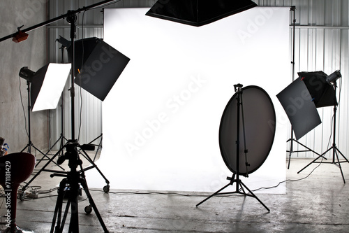 Leinwanddruck Bild Studio photo