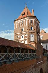 Belarus. Tower of Mir Castle