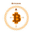 Bitcoin brújula