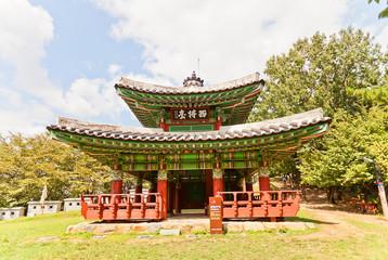 Seojangdae Pavilion of Dongnae castle in Busan, Korea