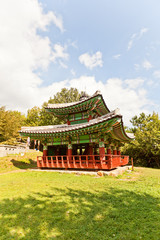 Seojangdae Pavilion of Dongnae castle in Busan, Korea