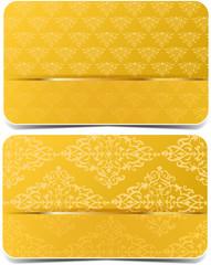 Golden vector  cards