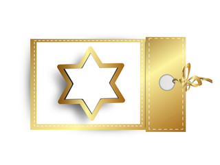 stern anhänger gold