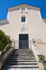 Mother Church of Morano Calabro. Calabria. Italy.