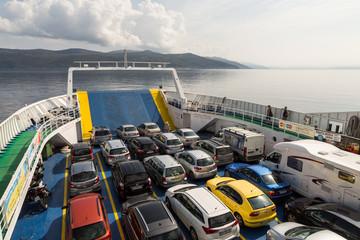 Ferry pour Cres avec voitures