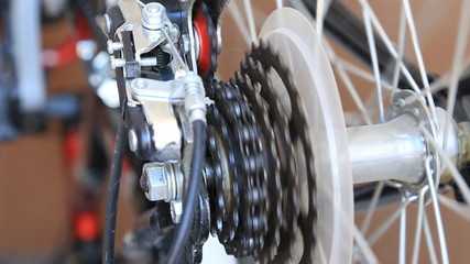 bike gear mechanism