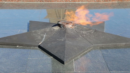 Eternal Flame at Victory Park on Poklonnaya Hill , Moscow