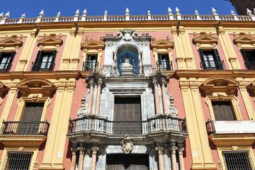 Palacio Episcopal de Málaga, Andalucía, España