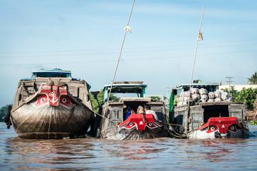 Mercato Galleggiante, Delta del Mekong