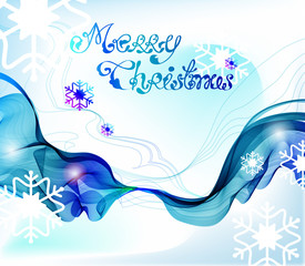 Christmas abstract greeting background, VECTOR