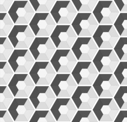 hexagonal vector seamless background