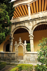 Cloister of the Monastery of Yuste, Caceres, Spain