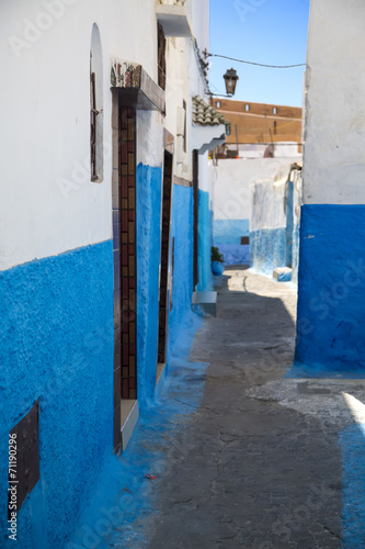 canvas print picture Kasbah of the Udayas in Rabat, Morocco