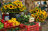 Vegetables and flowers for sale in Provence - 71190476