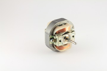 Small DC motor with casing removed