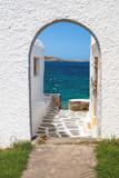 Panoramic view on Mykonos island, Greece