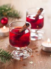 Hot tea or mulled wine