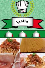 Spaghetti Salsa Bolognese - Prosciutto di Parma