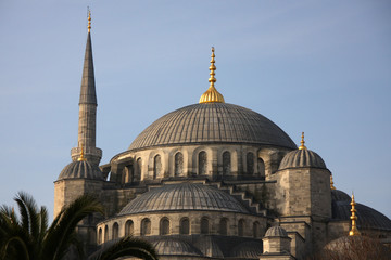 Blue mosque in Istanbul,Turkey