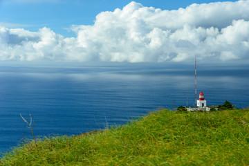 Lighthouse on a precipice
