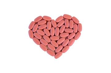 Herz aus Pillen