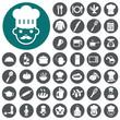 Chef icons set. Vector Illustration eps10 - 71194662