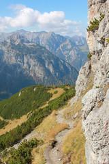Aufstieg zum Bärenkopf, Wanderweg