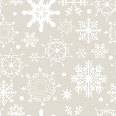 Abstract Beauty Christmas and New Year Seamless Pattern Backgrou