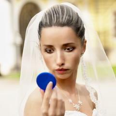 cartoon bride
