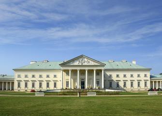 Chateau Kacina, Empire architecture in Bohemia