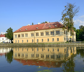 Castle Chocen is located on the banks of the river Ticha Orlice