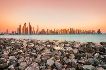 Dubai skyline, Dubai.