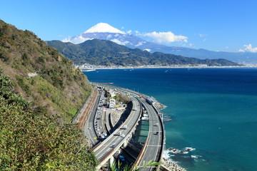 富士と東海道